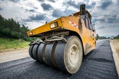 Road construction vehicle Stock Photos