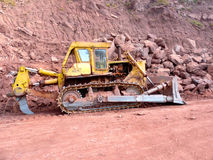 Road Construction Works Machinery Stock Image