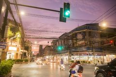 THAILAND ISAN KHORAT CITY CENTRE Royalty Free Stock Photography