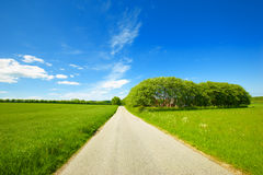 Road in the countryside Royalty Free Stock Photo