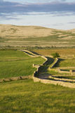Road in the countryside. Of Ireland royalty free stock photo