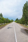 Road in the countryside Royalty Free Stock Photography