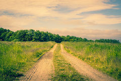 Road on a countryside Stock Image