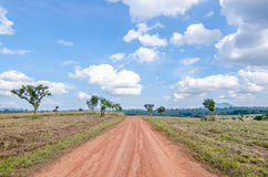 A road in the countryside Royalty Free Stock Images