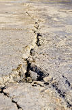 Road crack Royalty Free Stock Images