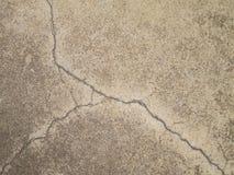 Road cracks A Unique Cracked Flooring Stock Photos