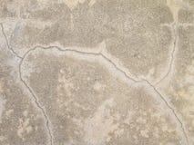 Road cracks A Unique Cracked Flooring Stock Image