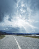 Road in Crimea Royalty Free Stock Images