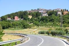 Road in Croatia Royalty Free Stock Photo