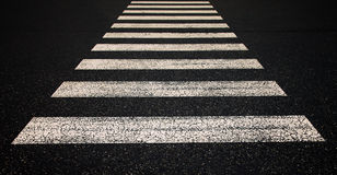 Road crossing symbol Royalty Free Stock Photo