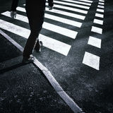 Road crossing Stock Photography