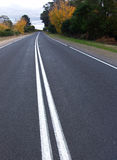 Road Curve. Country Road Curve in Australia Stock Photography
