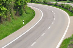 Road curve 2 Stock Photography