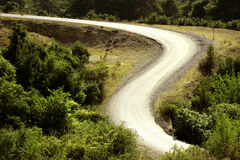 Road curve Stock Photography