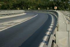 Road curve Stock Photo