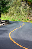 Road curve Royalty Free Stock Images