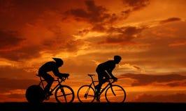 Road cycler Stock Photos