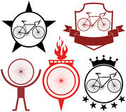 Road cycling Stock Image