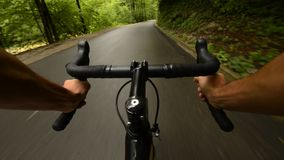 Road cycling Stock Photography