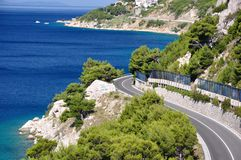 Road in Dalmatia Royalty Free Stock Photo
