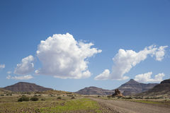 On the road in Damaraland Royalty Free Stock Images