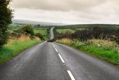 Road in Dartmoor Stock Images