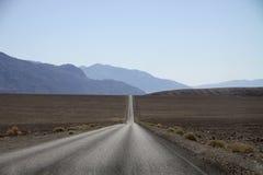 Road through Death Valley Stock Photos