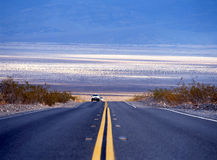Road in Death Valley Royalty Free Stock Images
