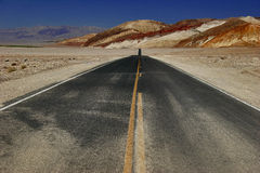 Road of Death Valley Stock Images