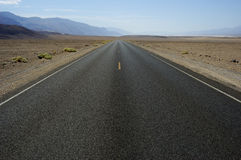 Road in Death Valley Stock Images