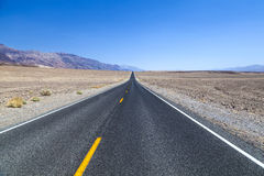 Road in the Death Valley National Park Stock Image