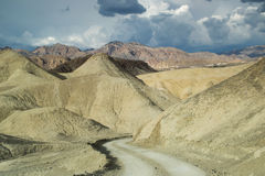 Road in the death valley national park Stock Photography