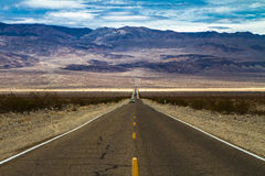 Road into Death Valley Stock Photo
