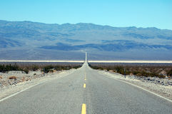 Road in Death Valley National Park, California,USA Stock Image