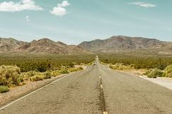 Road in Death Valley National Park. USA. Road in Death Valley National Park, USA Royalty Free Stock Photo