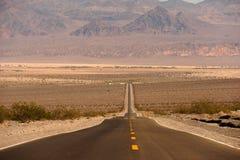 Road into Death Valley Stock Photos