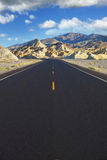The road in the desert Royalty Free Stock Photography