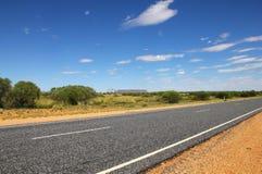 Road in the desert. (NT, Australia Royalty Free Stock Image