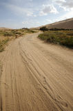 Road in desert Stock Photography