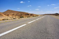 Road in the desert Stock Photos