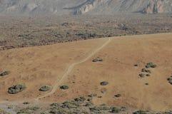 Road in the Desert Stock Image