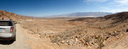 Road In the Desert Panoramic Stock Photography