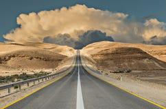 Road in desert Stock Photography