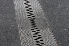 Road dilatation Royalty Free Stock Image