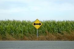 Road Direction Arrows Stock Photography