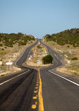 Road Divided royalty free stock photos