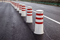 Road Dividers Stock Photos