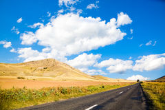 Road in Dobrogea Stock Image