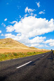 Road in Dobrogea Stock Photos