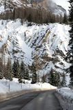 Road Through the Dolomites Royalty Free Stock Photos